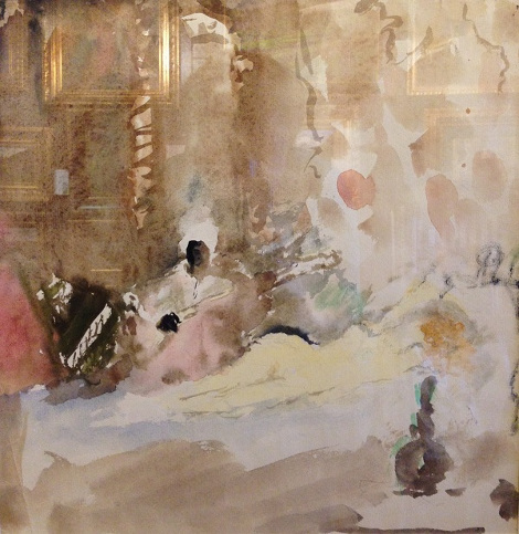 Артур Фонвизин «1001 и одна ночь» 1950-е