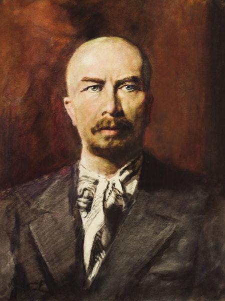 Фонвизин Артур. Портрет писателя Александра Серафимовича.