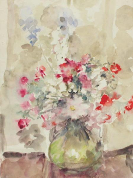 Фонвизин Артур. Цветы в вазе.