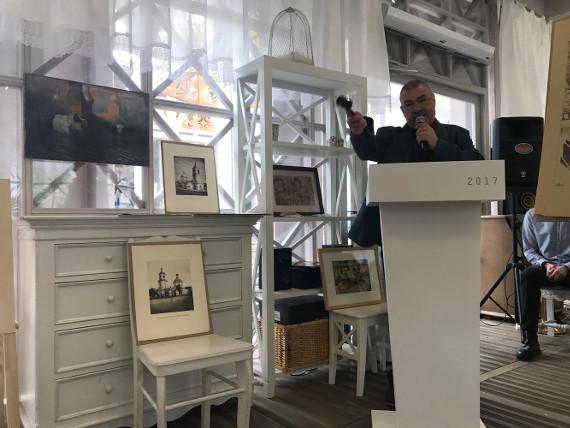 Галерея «Веллум» приняла участие в Аукционе «Искусство Серебряного века».