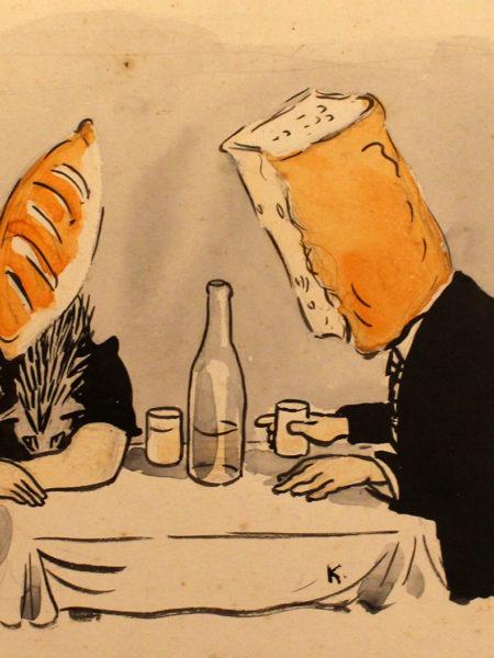 Аминадав Каневский. Батон и хлеб.