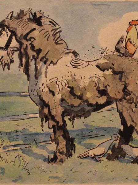 Каневский Аминадав. Грязная лошадь.