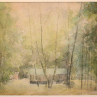 Роберт Фальк. Пейзаж.