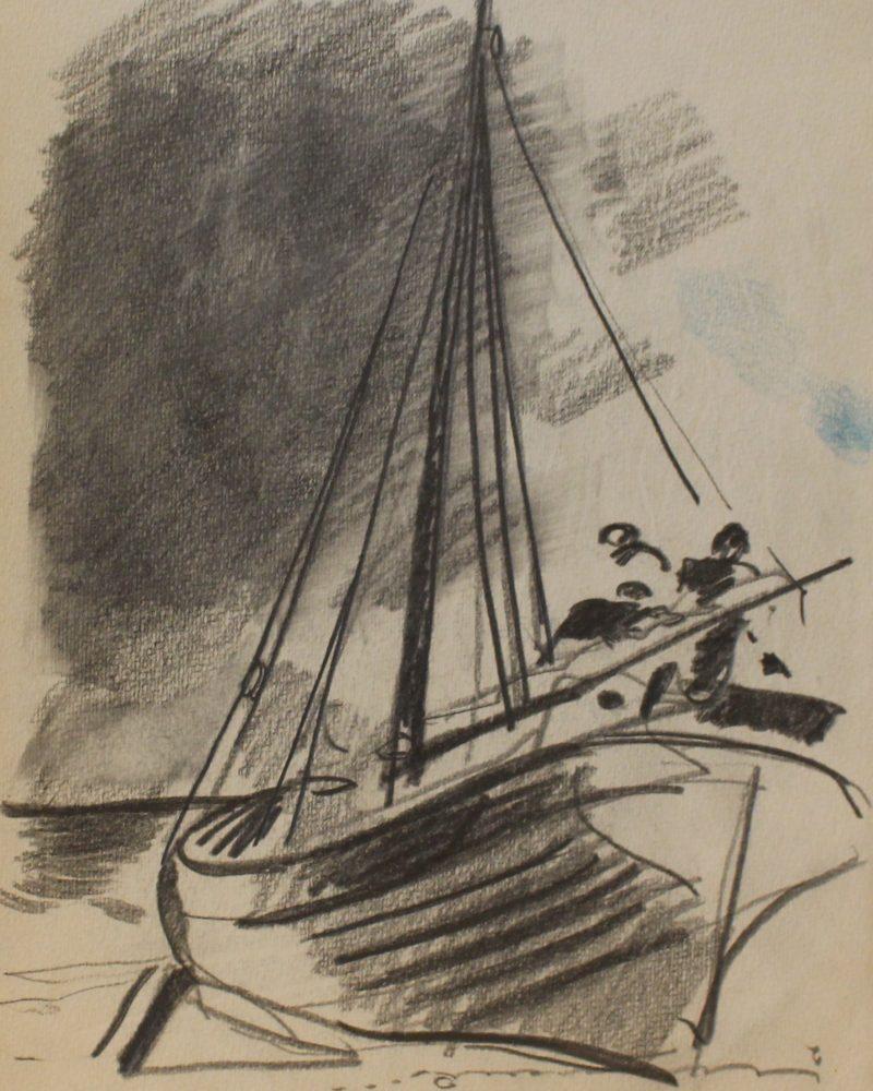 Нисский Георгий. Лодка.