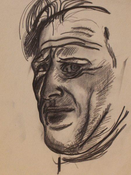 Нисский Георгий. Портрет мужчины.