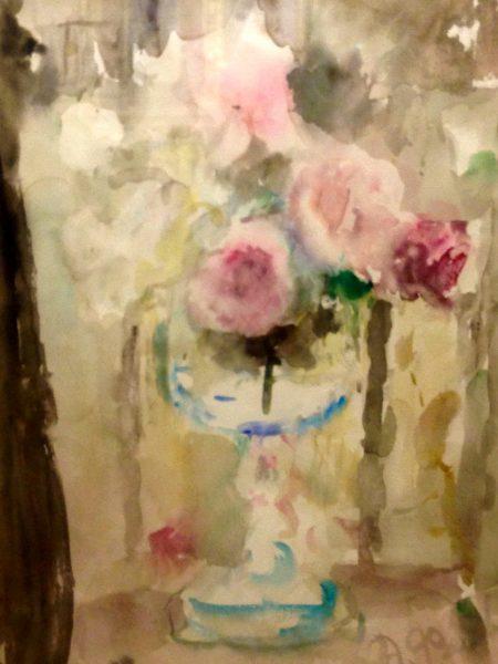Фонвизин Артур. Розы на балконе.