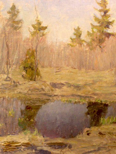 Бялыницкий-Бируля Витольд. Весеннее озерцо.