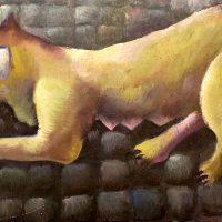 Калинин Вячеслав. Кошка с мышкой.