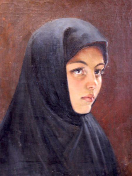 Штембер Виктор. Монахиня.