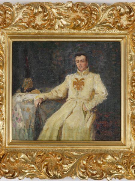 Лебедев Клавдий. Князь Андрей Владимирович на балу.