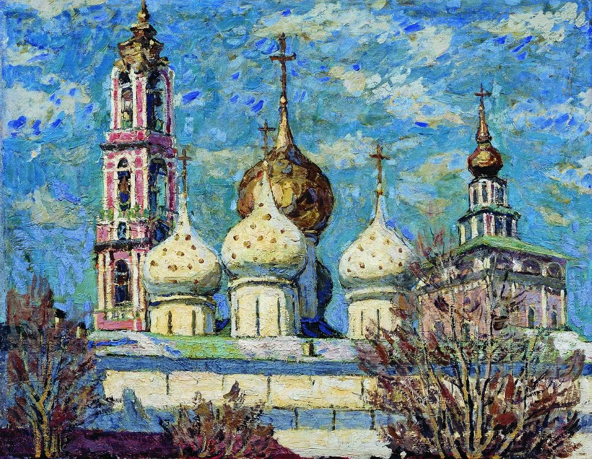 Биография и картины Петра Петровичева