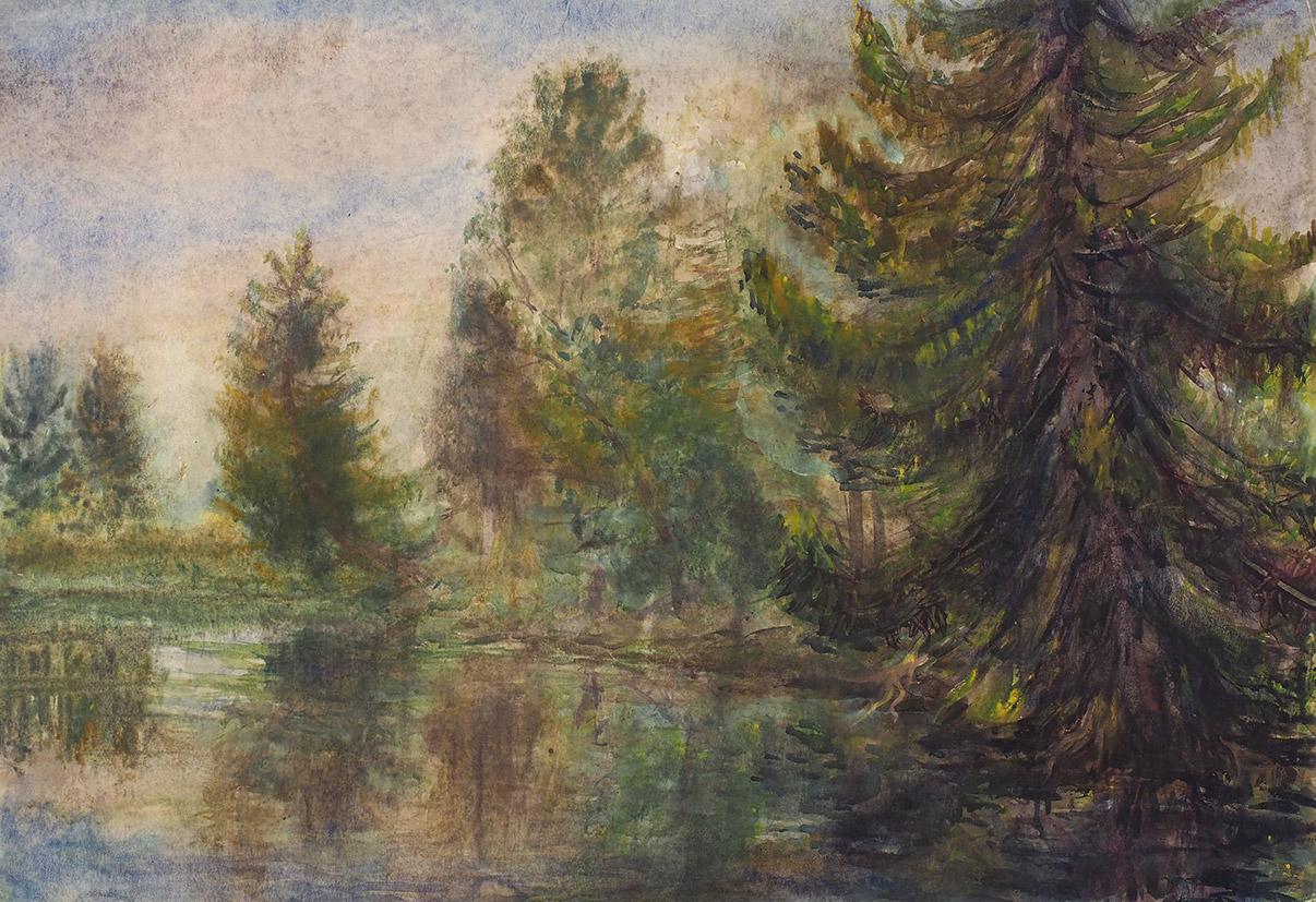 Биография и картины Ефросинии Ермиловой-Платовой