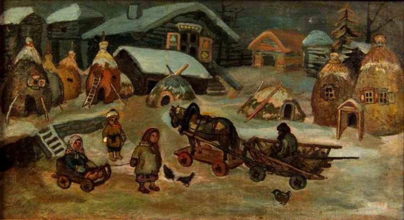 Биография и картины Ефима Честнякова