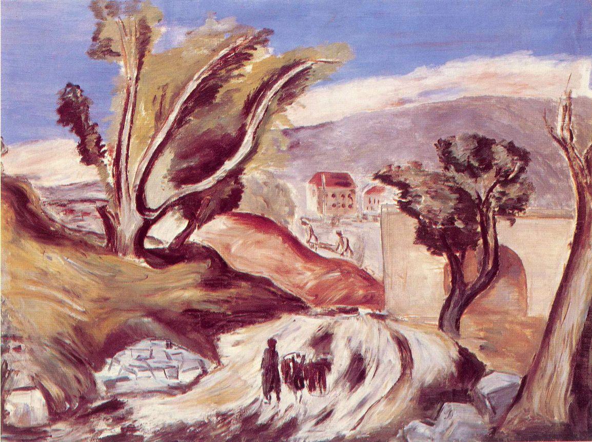 Биография и картины Александра Древина