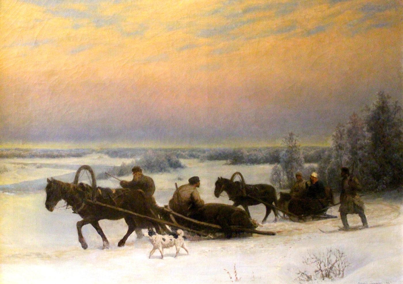Где можно купить антикварные картины в Москве