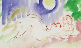 Артур Фонвизин — Леда и лебедь