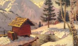 Михаил Гермашев — Зима в Альпах