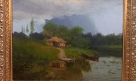 Виктор Батурин. Домик у реки