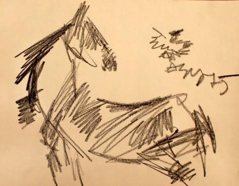Зверев Анатолий. Лошадь.