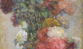 Арон Люмкис — Пионы на подставке