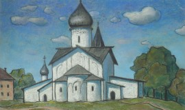 Борис Смирнов-Русецкий — Псков-церковь Вознесения