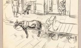 Петр Кончаловский — Неаполь. Улица