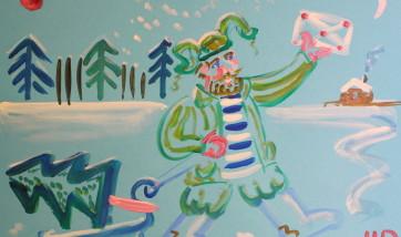 Рождественская ярмарка галереи Веллум