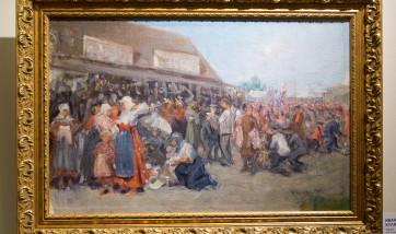Выставка «Илья Репин — учитель» в галерее «Веллум»