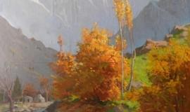 Николай Карахан — Осень в горах