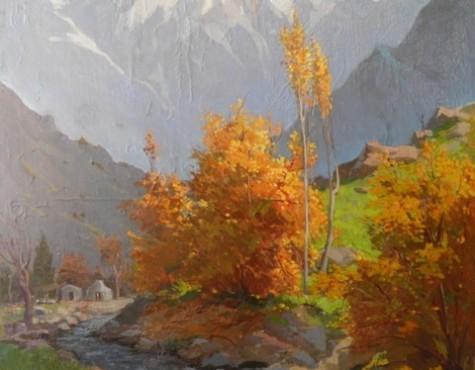 Карахан Николай. Осень в горах.