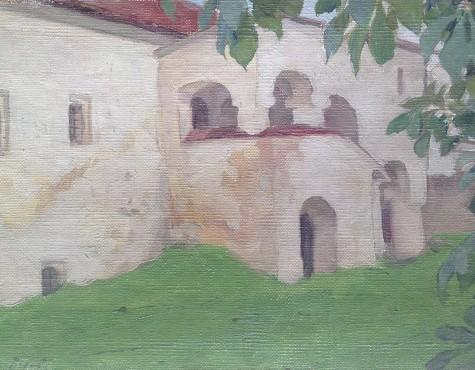 Шестопалов Николай. Уголок Саввино-Сторожевского монастыря. Звенигород.