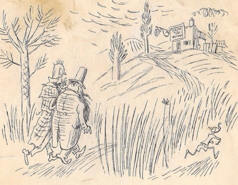 Малаховский Бронислав. Иллюстрация к книге