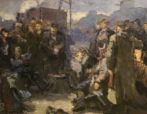 Бубнов Александр. Эскиз картины