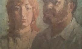 Арон Бух — Автопортрет с женой