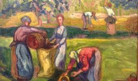 Иван (Жан) Песке — Сбор яблок