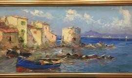 Георгий Лапшин — Лодки у причала
