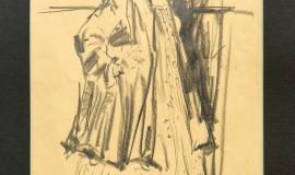 Филипп Малявин — Баба у плетня