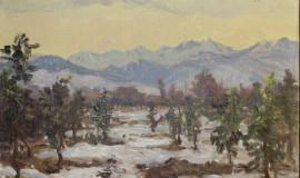 Ростислав Барто — Заснеженные горы