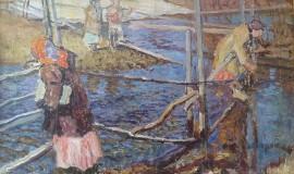 НиколайБогданов-Бельский — Крестьянские дети у ручья