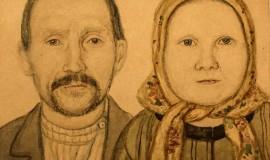 Ефим Честняков — Отец и мать