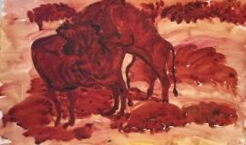 Александр Яковлев — Бык и корова