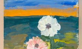 Владимир Яковлев. Белый и розовый цветок